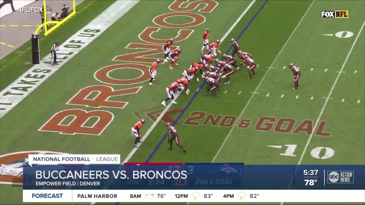 Tom Brady and Shaq Barrett lead Buccaneers past Broncos 28-10