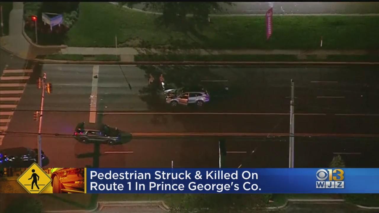 Man Killed In Pedestrian Crash Along Route 1 In Laurel