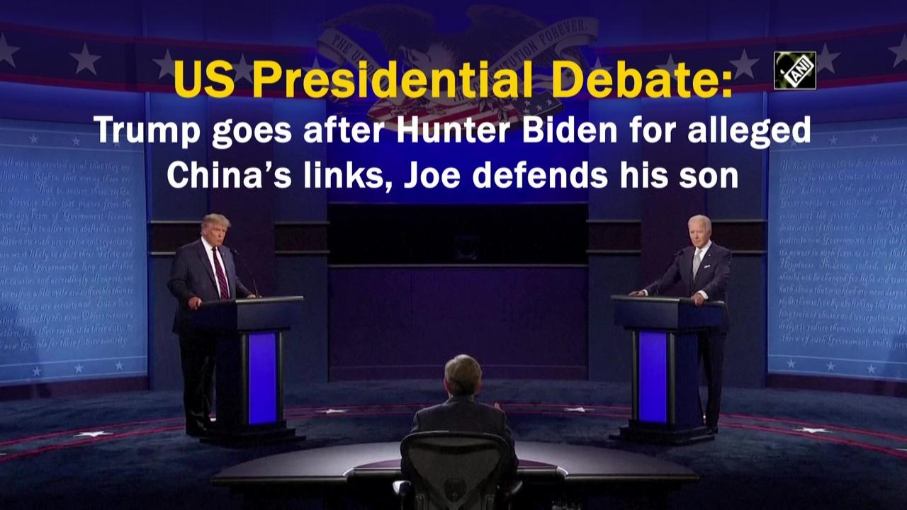 Presidential Debate: Biden Denies Son Hunter Received ...