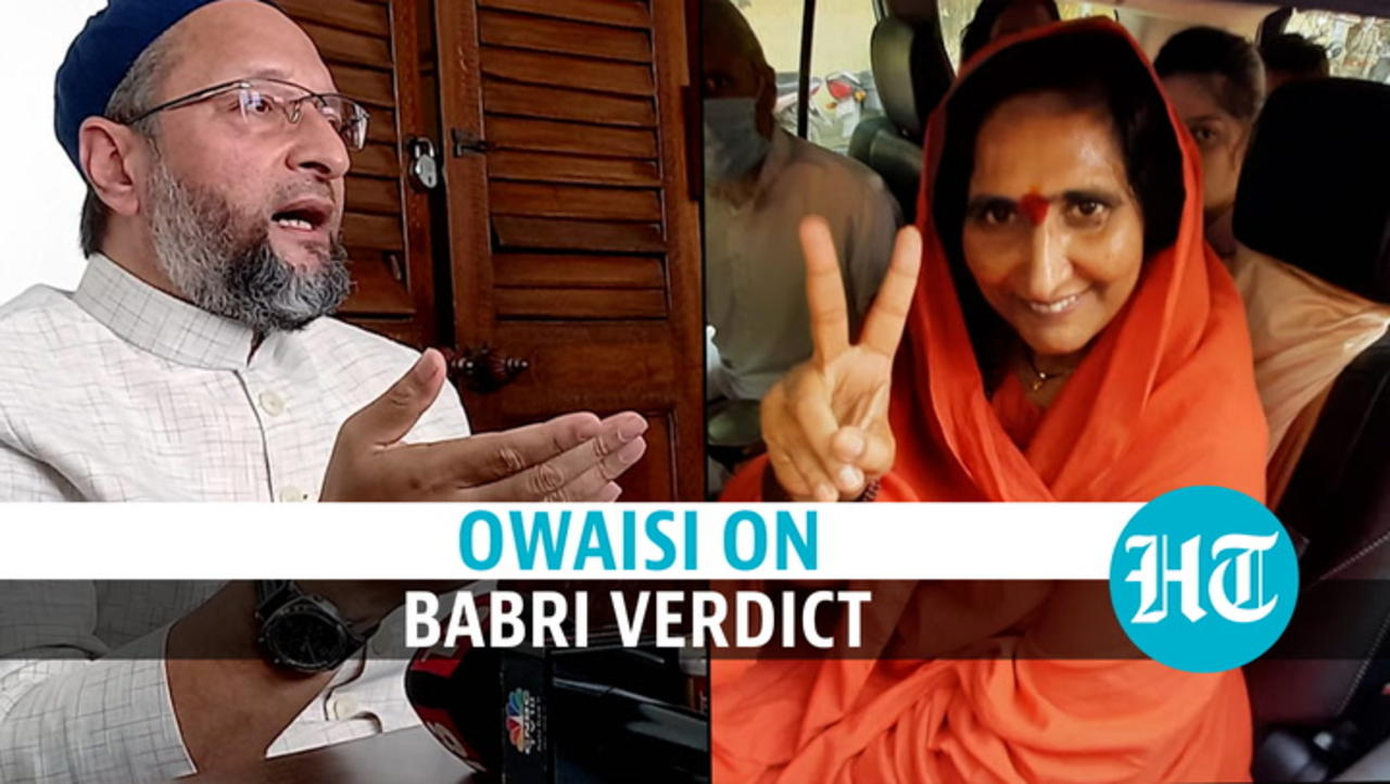 Babri verdict: Asaduddin Owaisi slams 'black day' as court acquits all accused