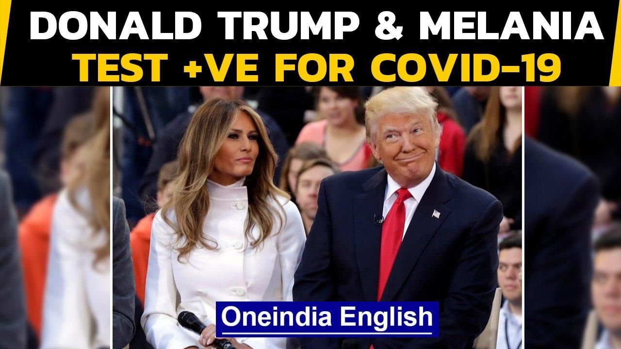 Donald Trump and US first lady Melania Trump test positive for Covid-19 | Oneindia News
