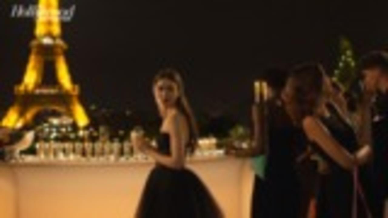 Lily Collins, Ashley Park & More Talk New Netflix Series 'Emily In Paris'   THR News