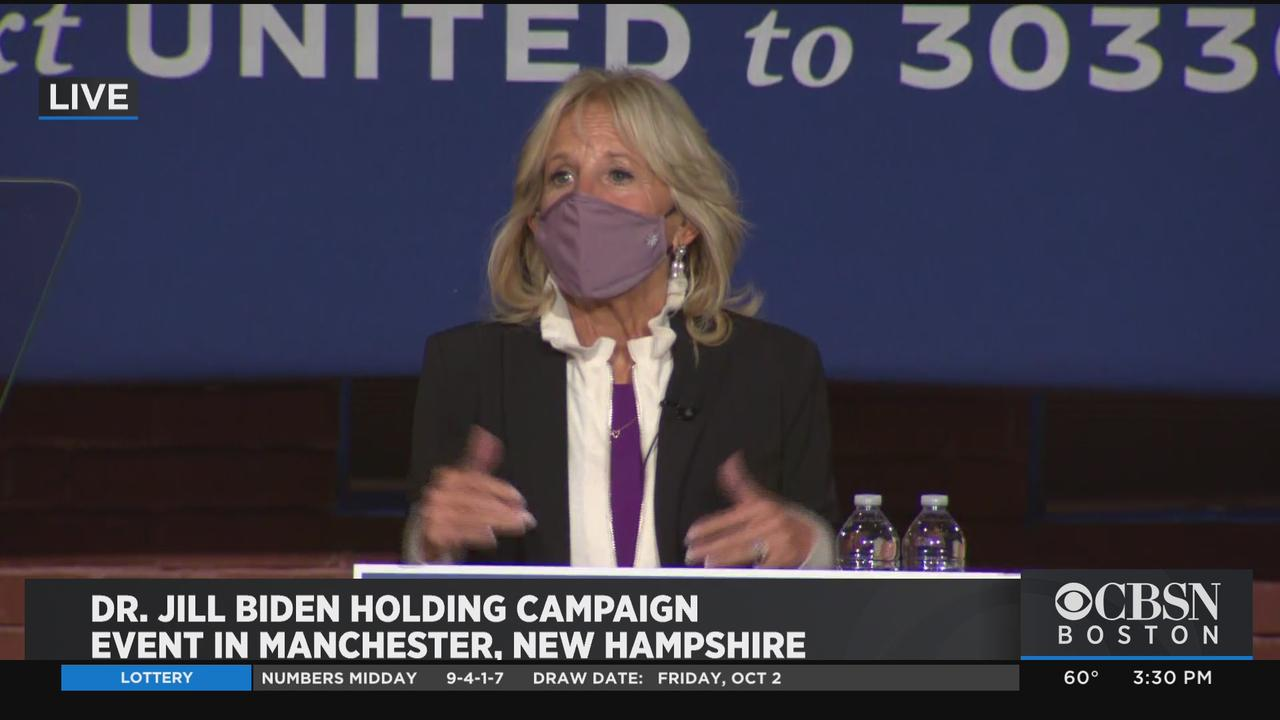 Jill Biden Campaigns In New Hampshire, Wishes President ...