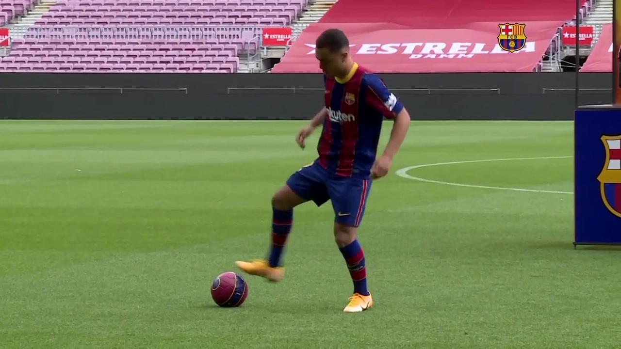 Barca's Dest has keepy-uppy nightmare