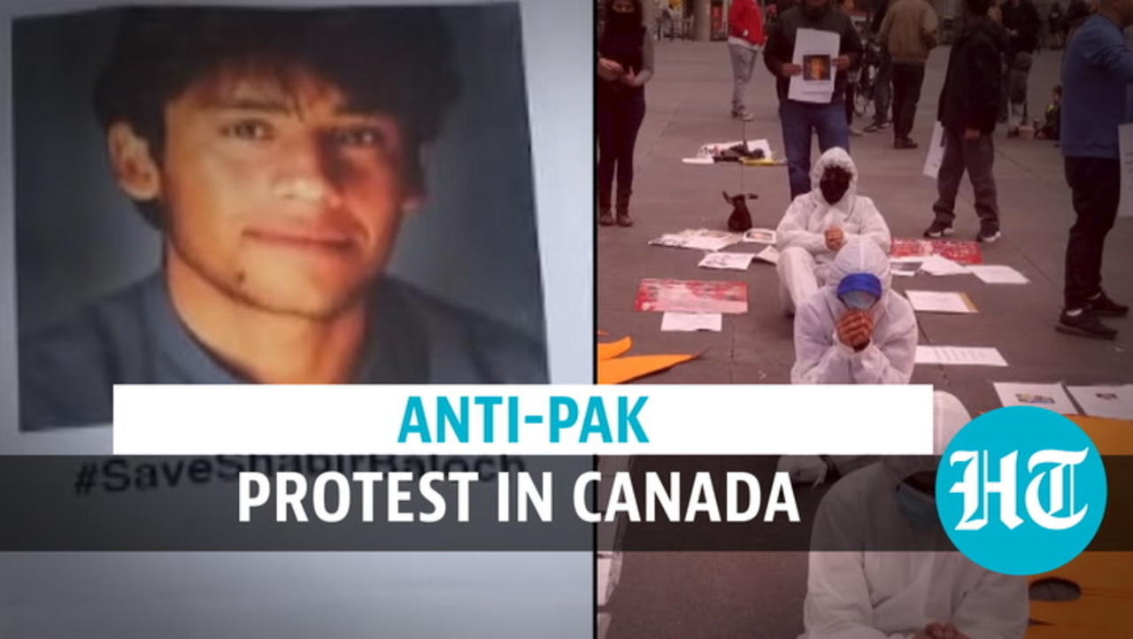 Anti-Pakistan protest in Canada: Release China critic, say Baloch activists
