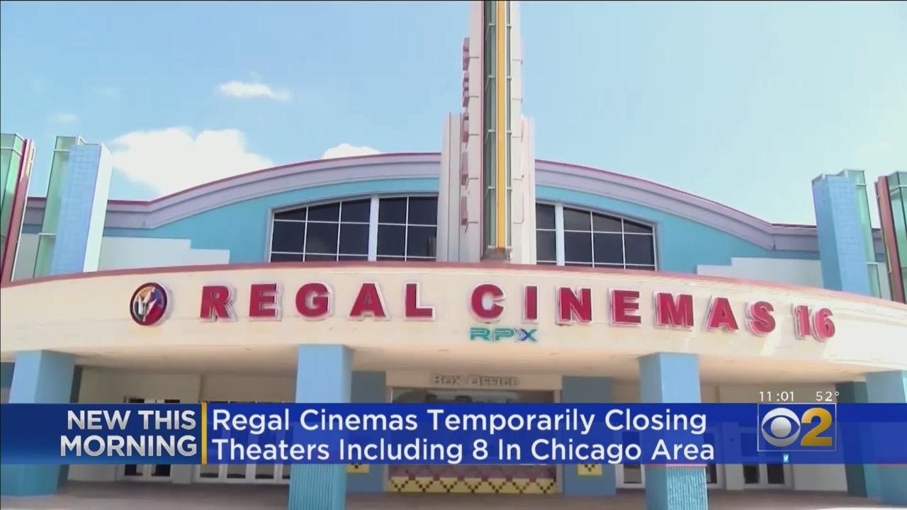 Regal Cinemas Temporarily Closing Theaters, Including 8 In Chicago Area