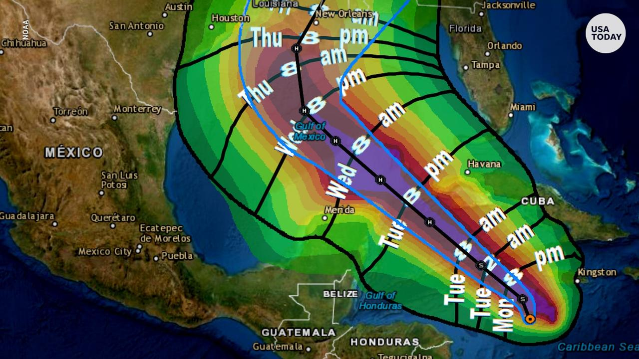 Tropical Storm Delta breaks record as it moves toward Gulf Coast, could become hurricane