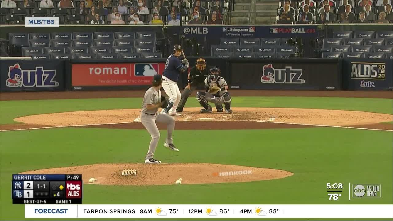 Rays get shelled by Yankees' power lineup ALDS Game 1 loss