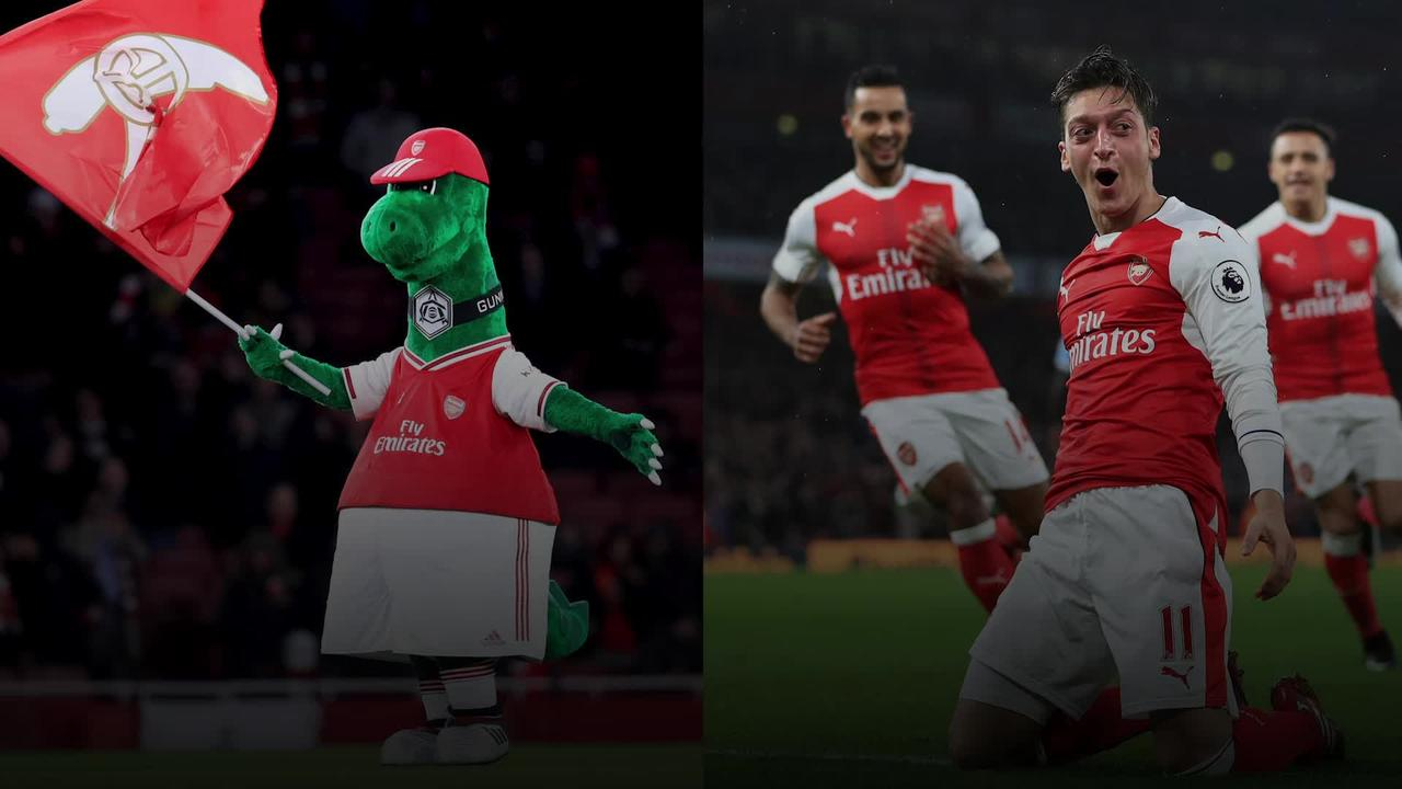 Mesut Ozil offers to pay wages of the Gunnersaurus