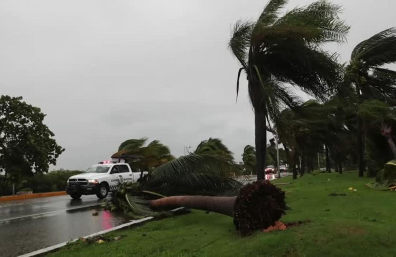 Hurricane Delta slams into Mexico near Cancun