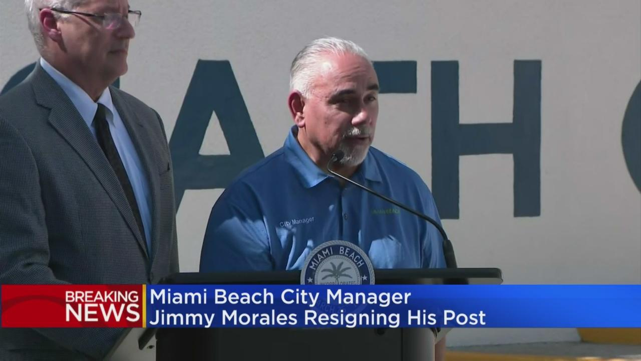Miami Beach's City Manager Resigning His Post