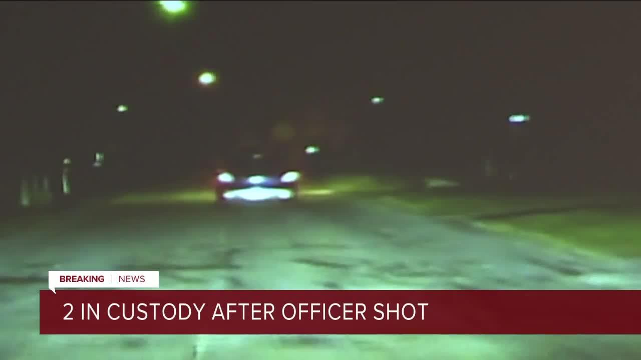 Lorain police officer shot at during traffic stop Tuesday night, 2 in custody