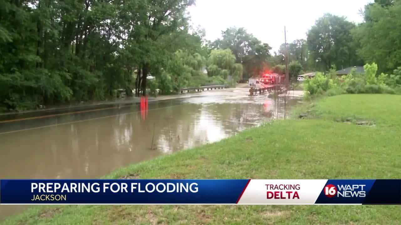 Jackson prepares for flooding from Hurricane Delta