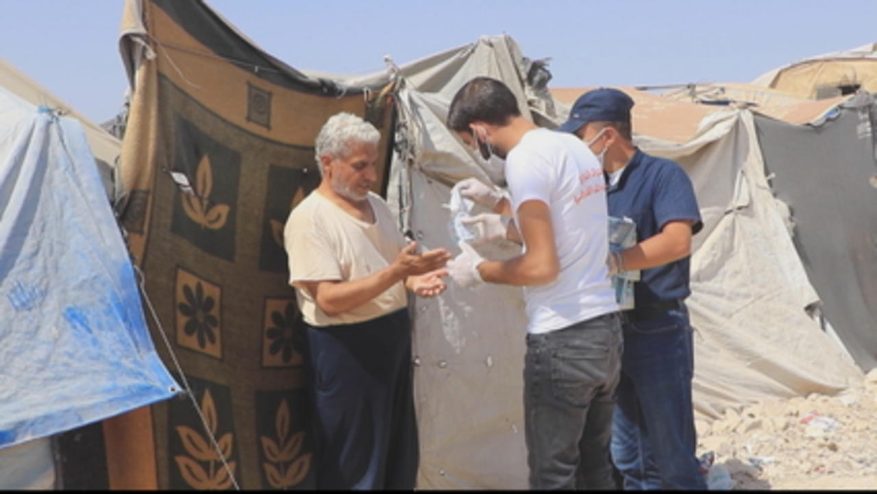 Aid agencies worried over sharp rise in Syria COVID-19 cases