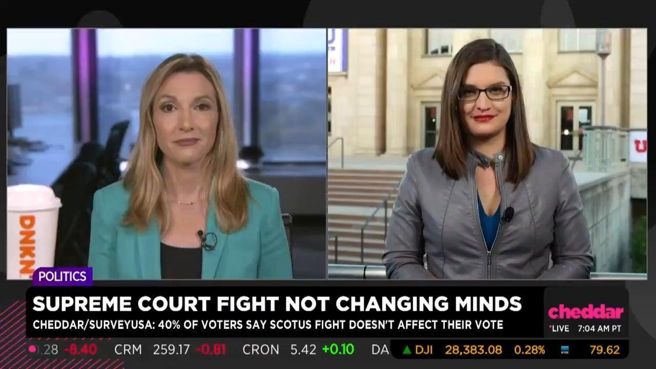 Cheddar Poll: Battle Over Supreme Court Nomination Not Changing Minds