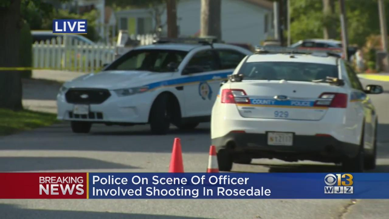 Baltimore County Police Officer Shoots Man Armed With Knife Or Blade