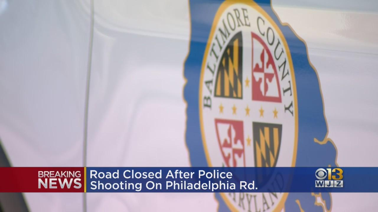 Baltimore County Police Officer Shoots Man Who Had Knife Or Blade