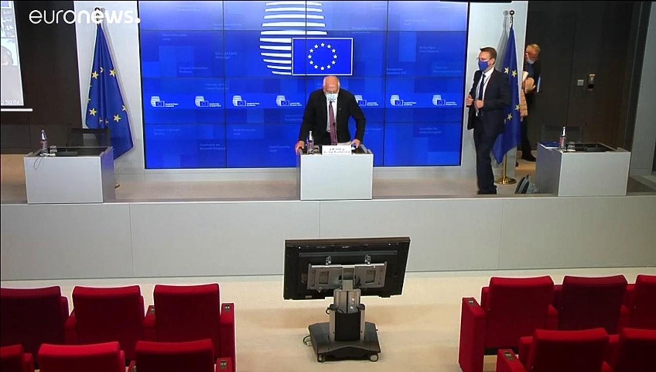 EU agrees sanctions against Lukashenko for crackdown on Belarus protests