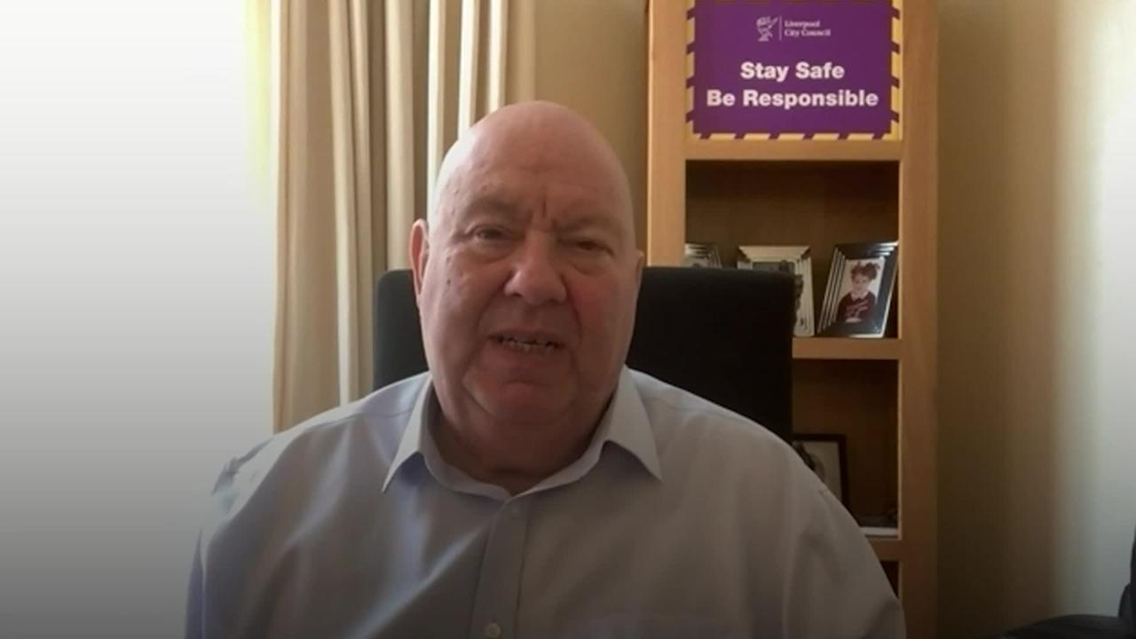 Liverpool mayor frustrated by poor communication with Government