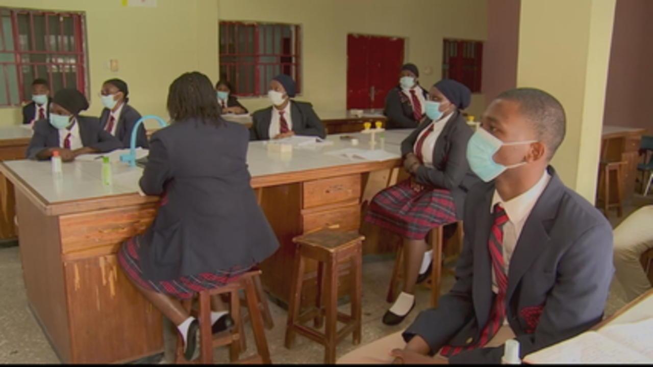 Nigeria's students return to school amid COVID-19 crisis