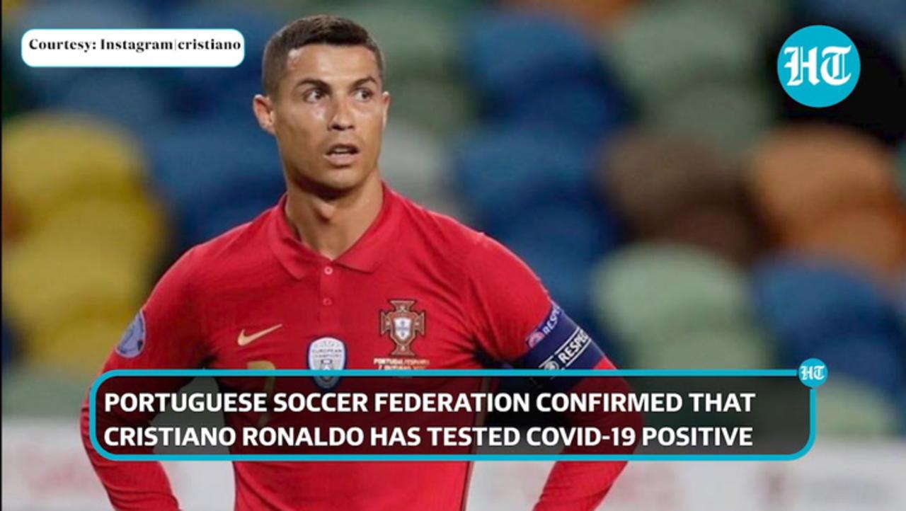 Covid-19: Cristiano Ronaldo tests positive, 'no symptoms' says Portuguese FA