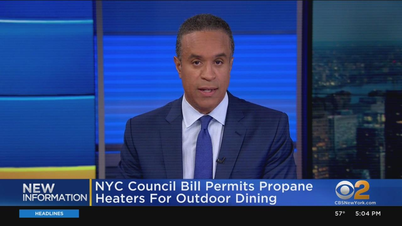 NYC Council Bill Permits Propane Heaters For Outdoor Dining