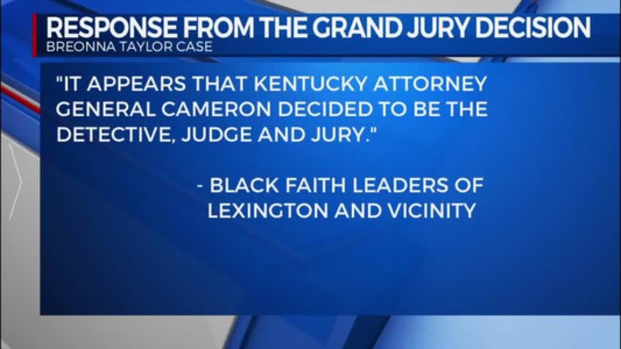 response from grand jury