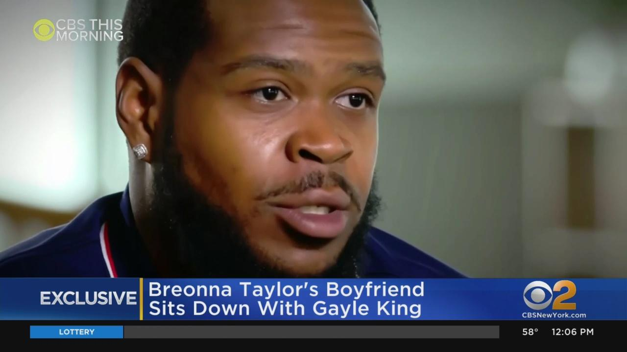 Breonna Taylor's Boyfriend, Kenneth Walker: 'I'm A Million Percent Sure' Police Didn't Identify Themselves