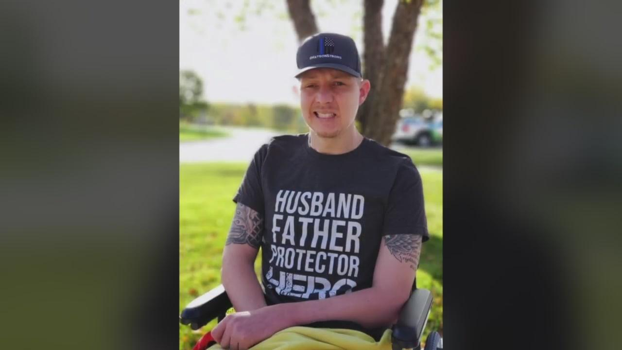 Waseca Police Officer Arik Matson, Shot In Line Of Duty, To Return Home Next Week After 10 Months Of Treatment