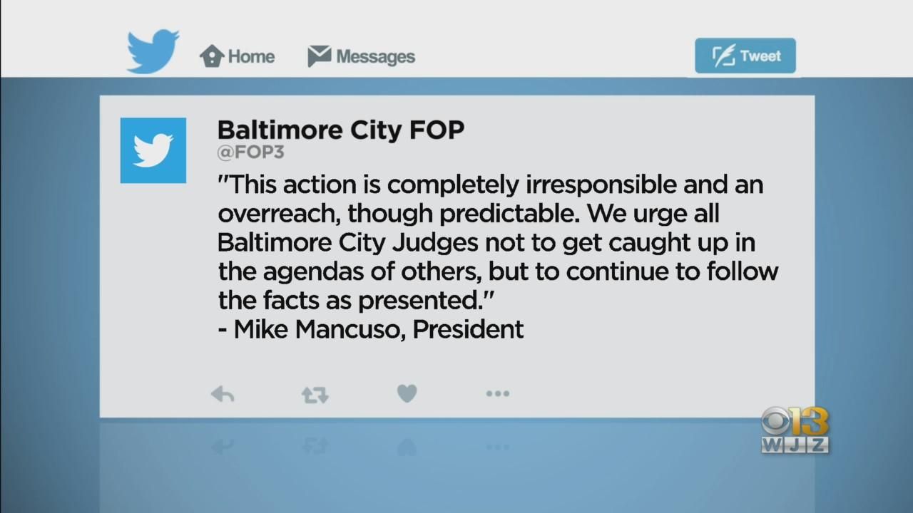 Mosby Announces Her Office Won't Authorize New No-Knock Warrants