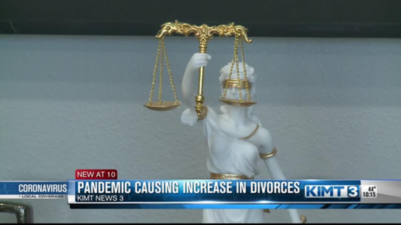 Divorce on the rise during pandemic