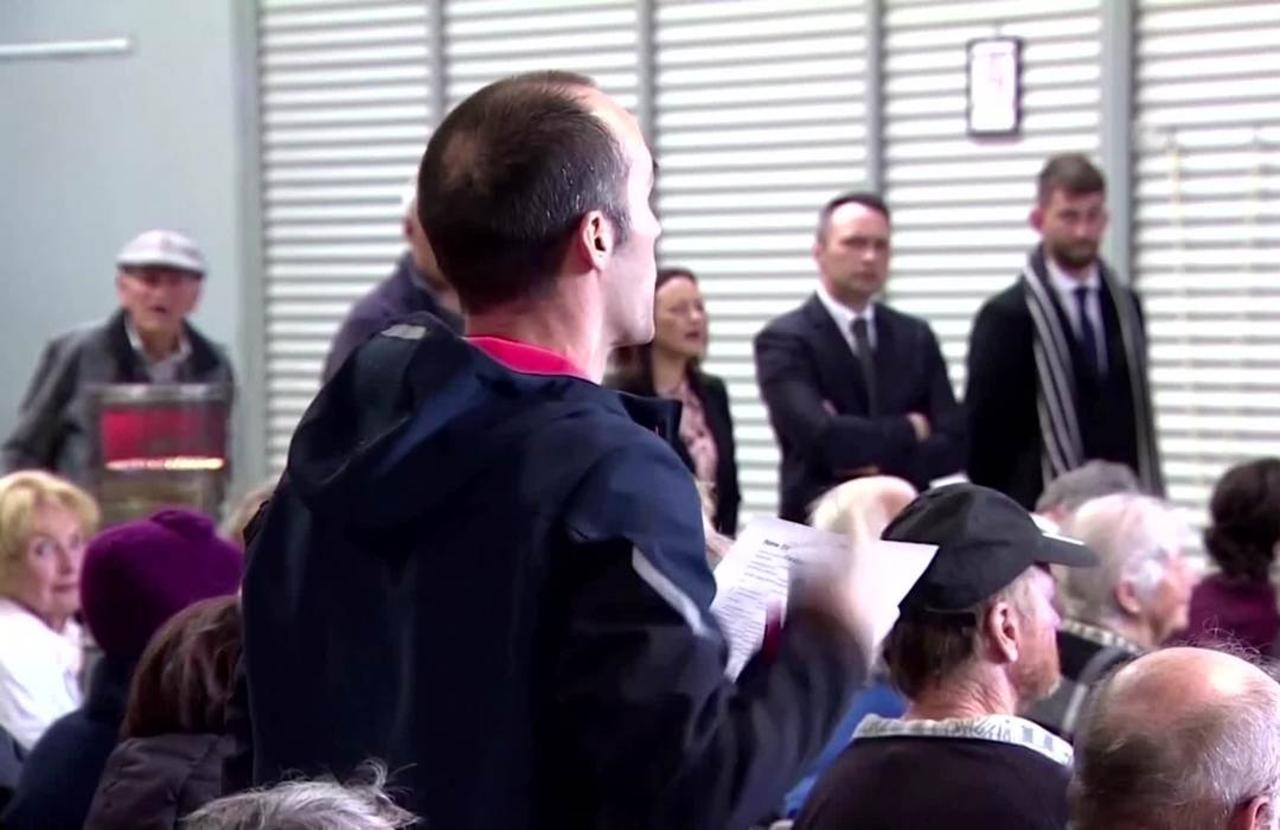 'Sorry sunshine, wrong place': NZ Deputy PM
