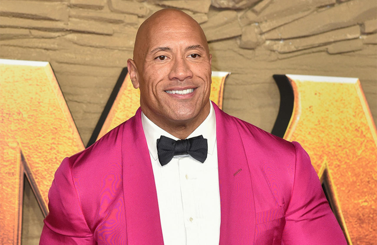 Dwayne 'The Rock' Johnson was very impressed when a fan stopped traffic just so he could meet him