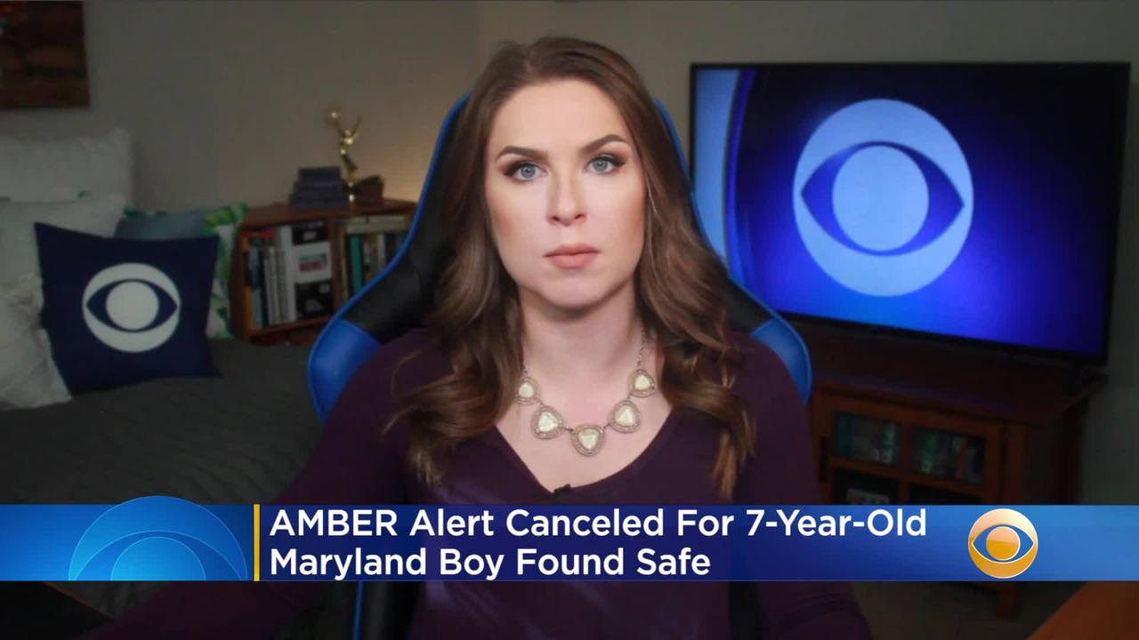 AMBER Alert Canceled For 7-Year-Old Maryland Boy - One ...
