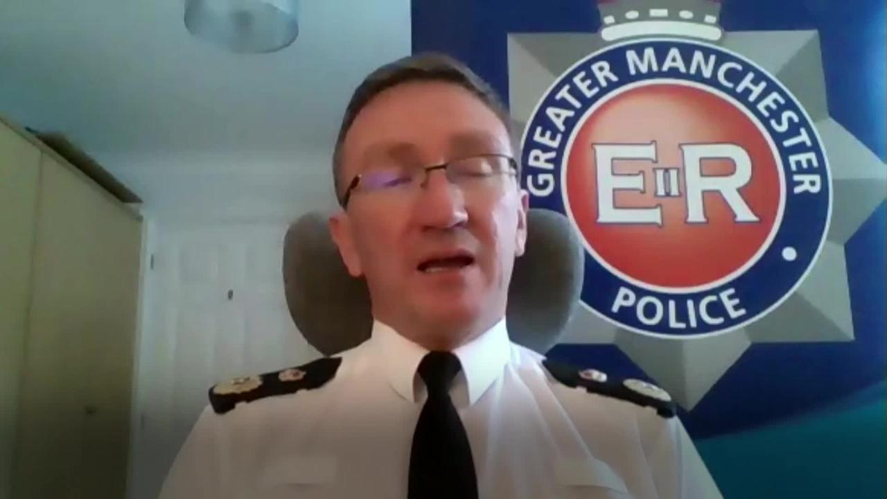 Chief Constable: Leaders are agreed for need of proportionate enforcement of lockdown rules in Manchester