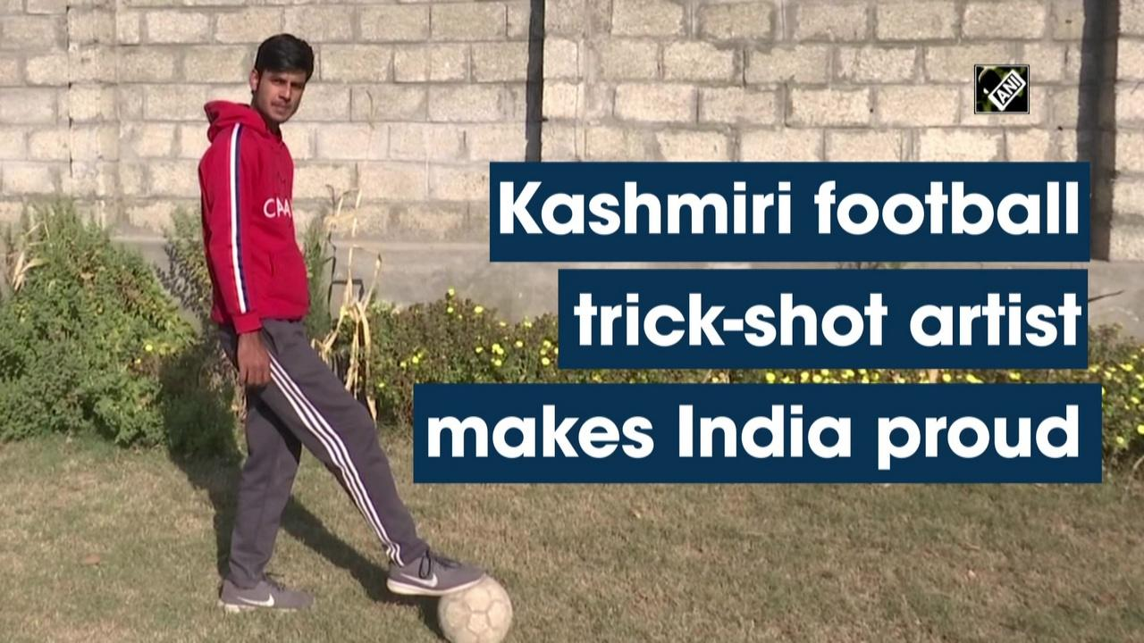 Kashmiri football trick-shot artist makes India proud