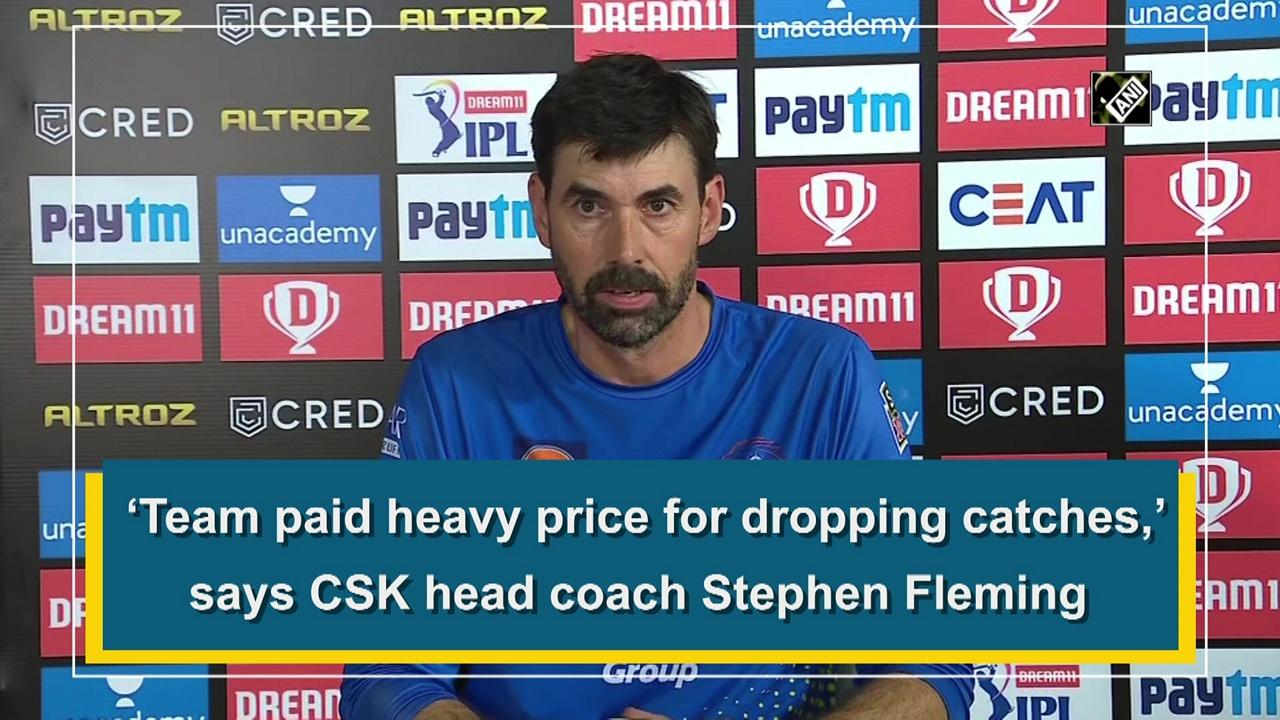 CSK head coach credits Dhawan's aggressive batting for DC's 5 wicket win