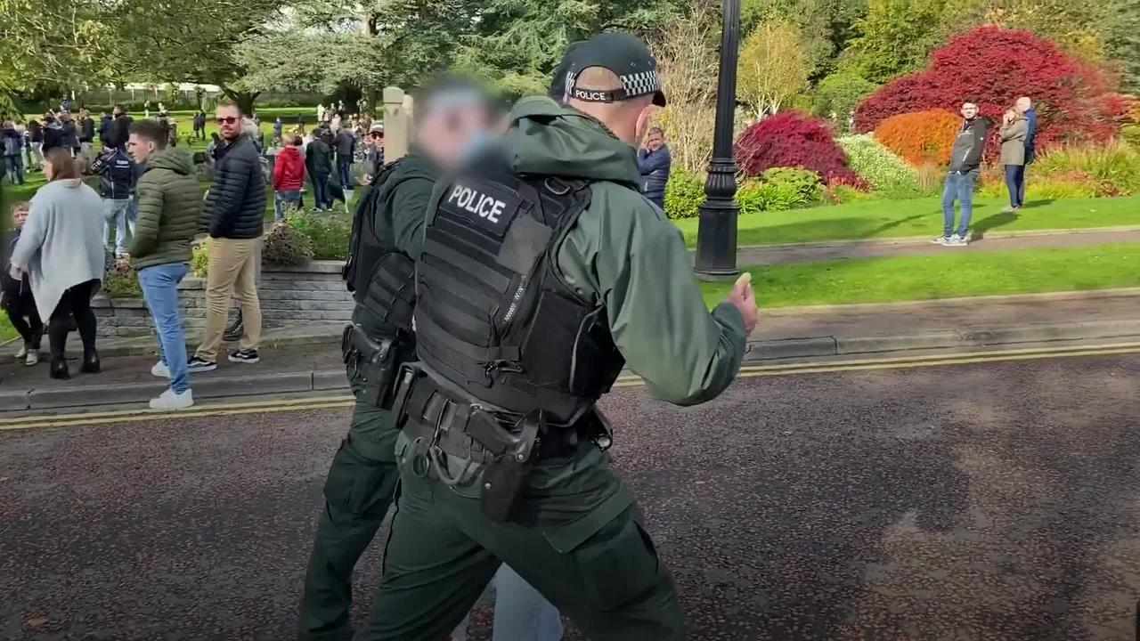 Arrests made at Stormont coronavirus protest