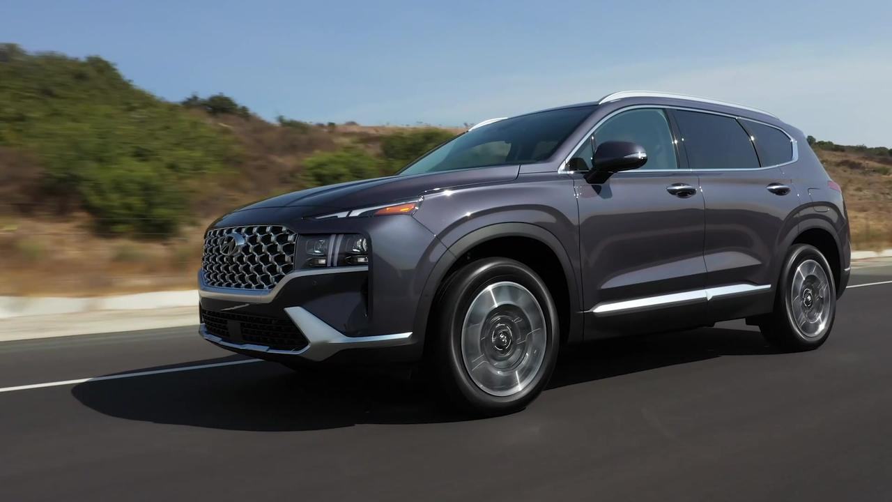 2021 Hyundai Santa Fe - Driving Video