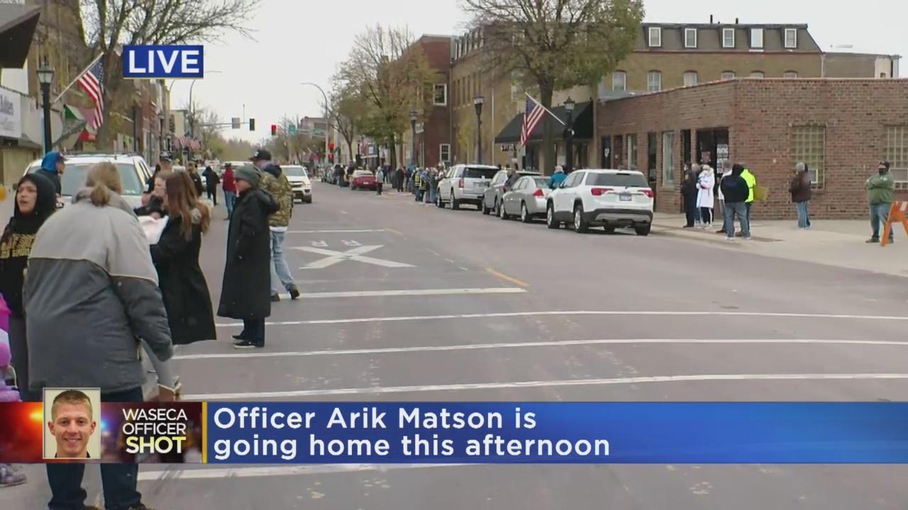 Waseca Police Officer Arik Matson To Return Home