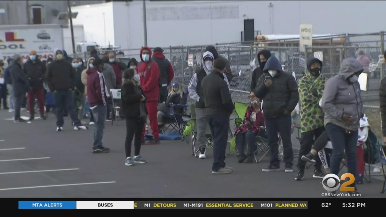 Drivers Wait On Long Lines As New Motor Vehicle Commission Facility Opens In Wayne, New Jersey