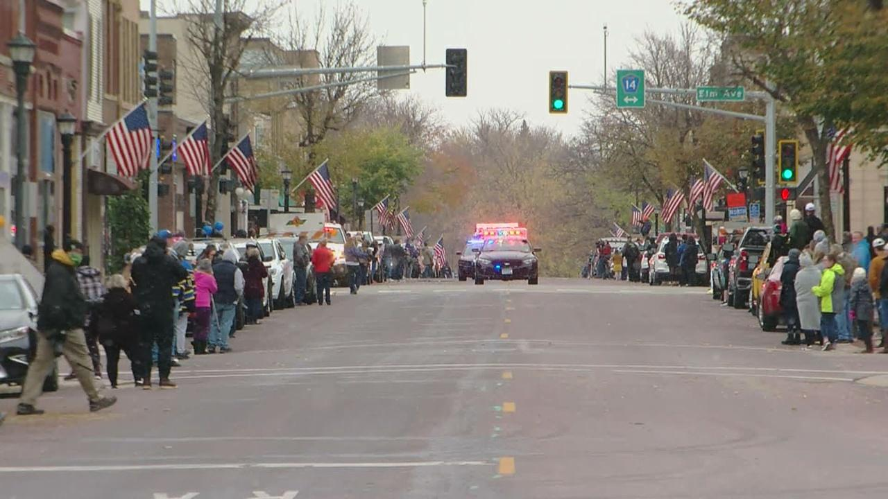 Waseca Residents To Line The Streets As Officer Arik Matson, Shot In The Line Of Duty, Returns Home