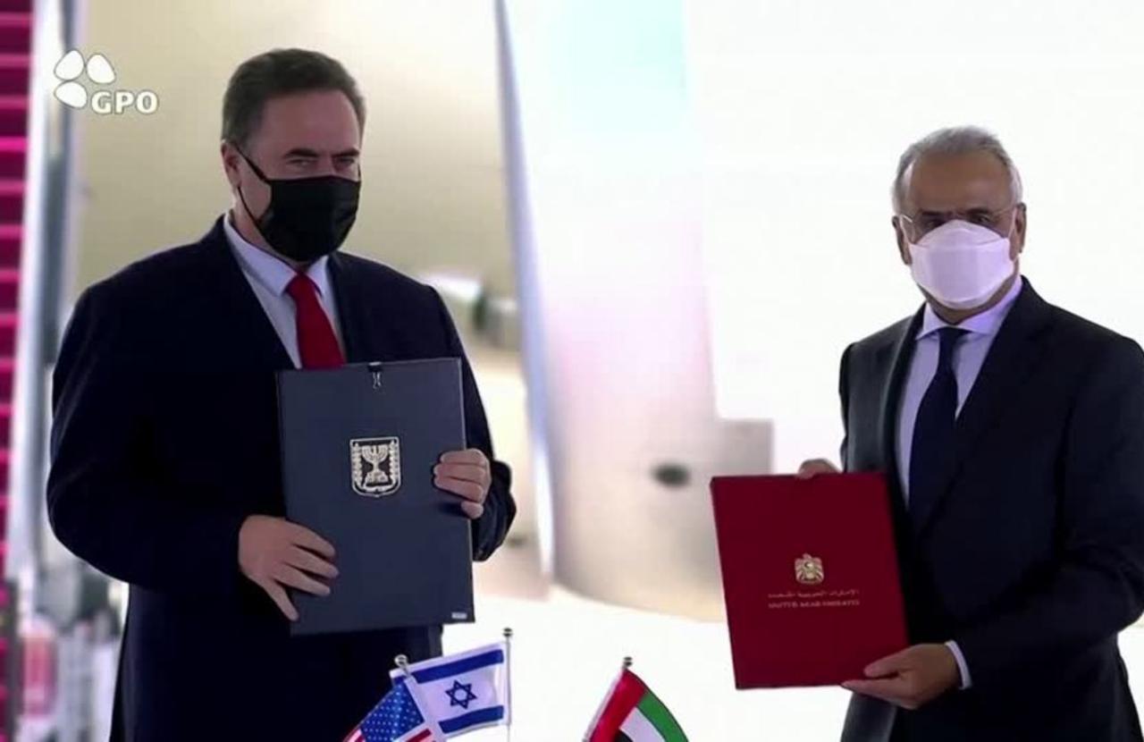 Israel says UAE visit 'making history'