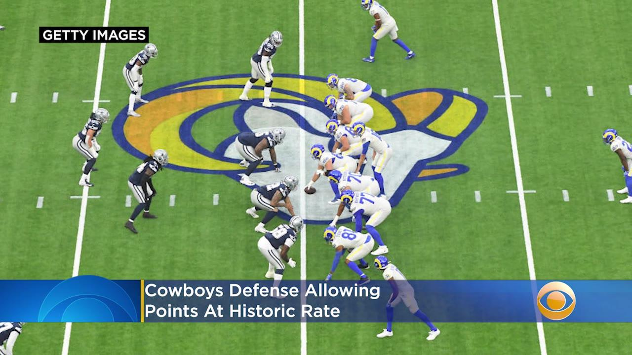 Cowboys Defense Allowing Points At Historic Rate, Frustrations Reportedly Mounting With Coaching Staff