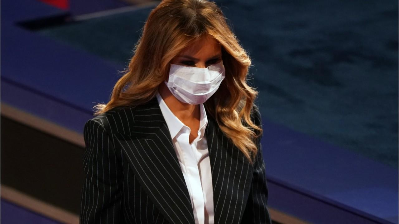 Melania Trump Cancels Plans To Attend Tuesday Rally Due To COVID-19