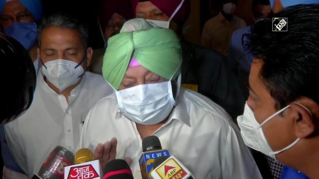 Don't care about President's Rule, doing this for farmers: Punjab CM Amarinder
