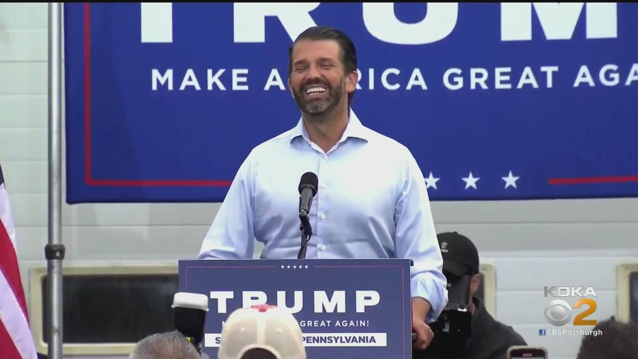 Donald Trump Jr. Holds Rally In State College