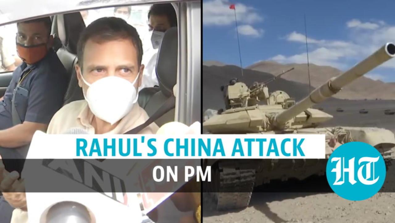 'Did you hear PM Modi say the word...': Rahul Gandhi's fresh salvo on Ladakh