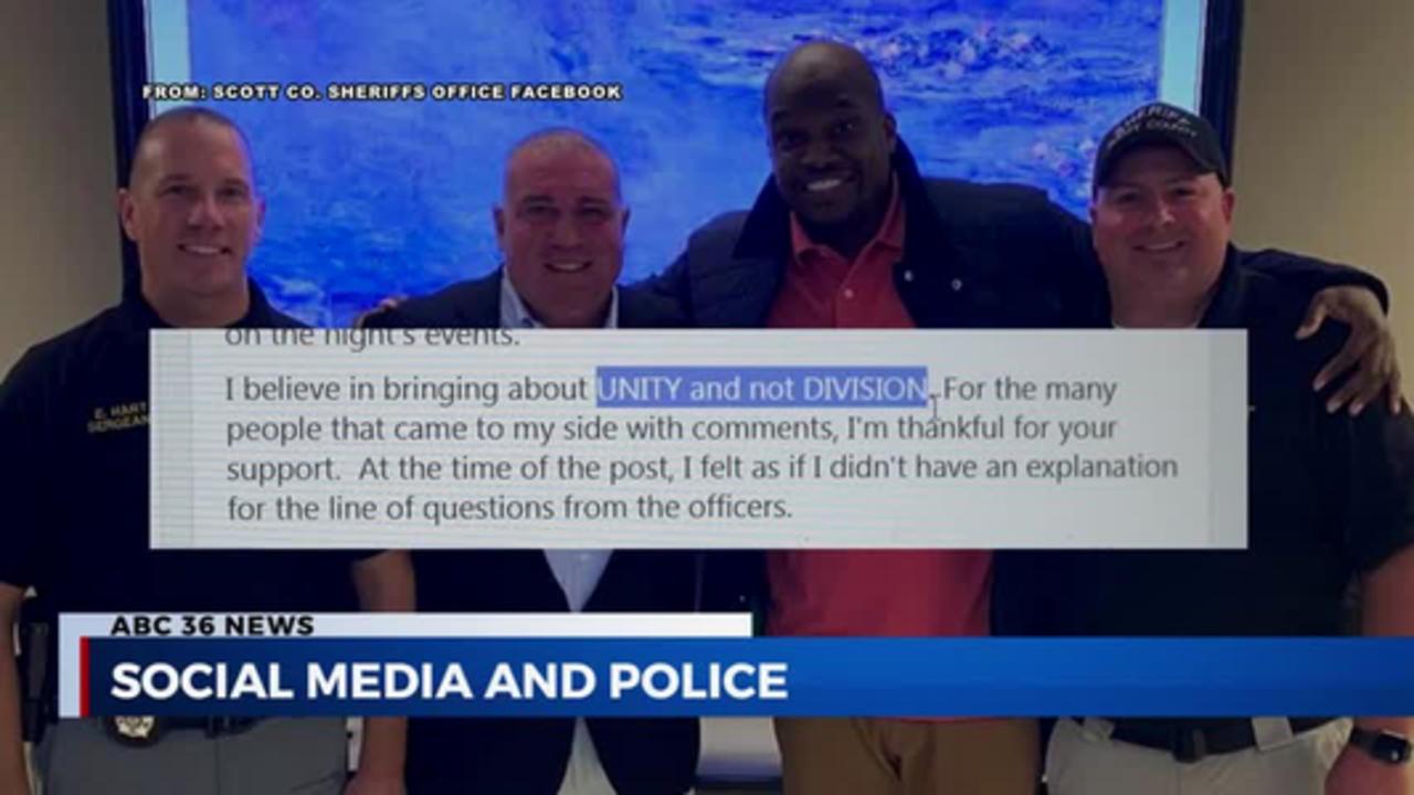 PKG: social media and police