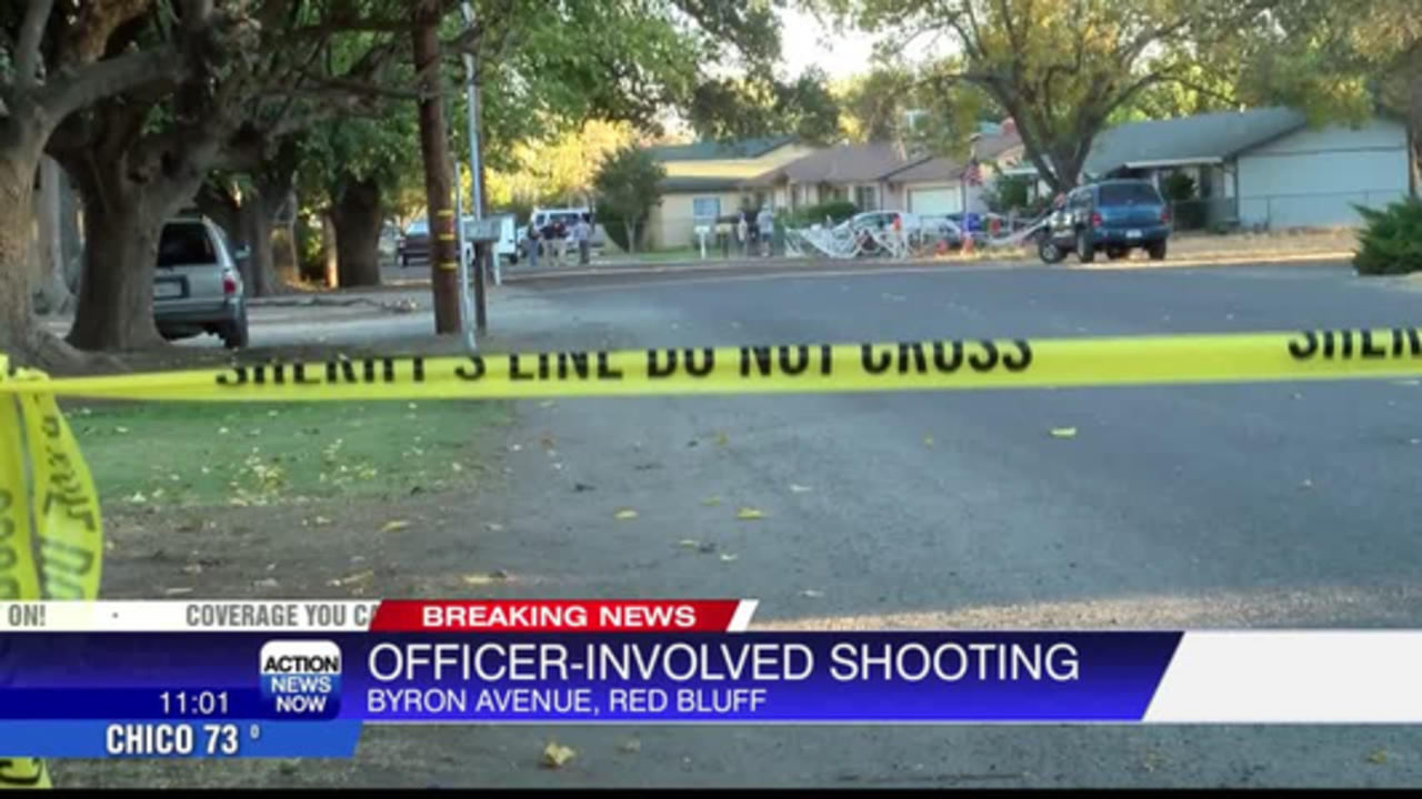 Man in stable condition after being shot by officers in Red Bluff neighborhood